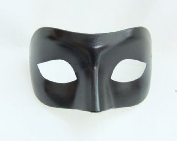Genuine Venetian Black Mask 2